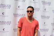 Mark Salling V-Neck Tee