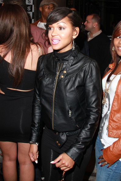 Meagan Good Leather Jacket
