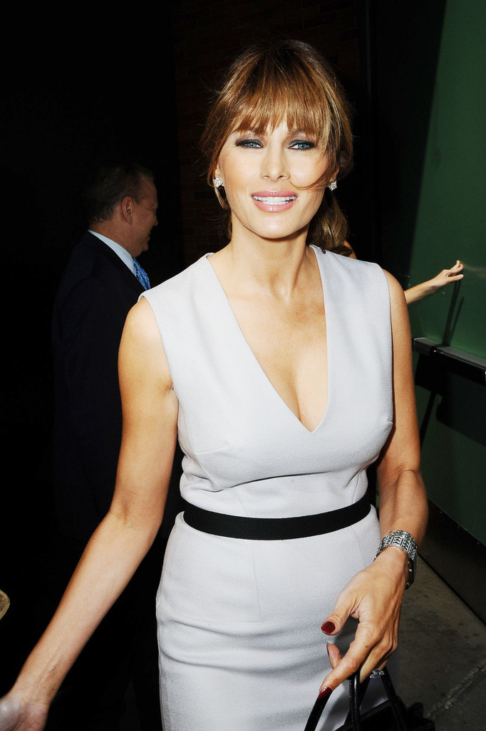 More Pics of Melania Trump Ponytail (3 of 14) - Melania Trump Lookbook ...