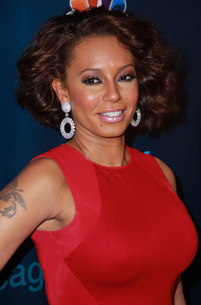 Melanie Brown Short Curls