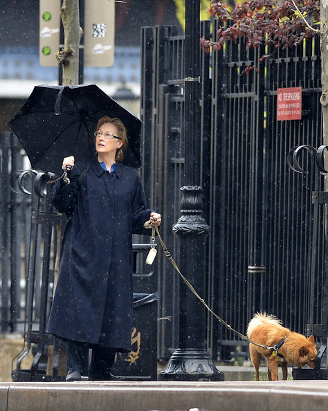 More Pics of Meryl Streep Trenchcoat (1 of 6) - Meryl Streep Lookbook - StyleBistro