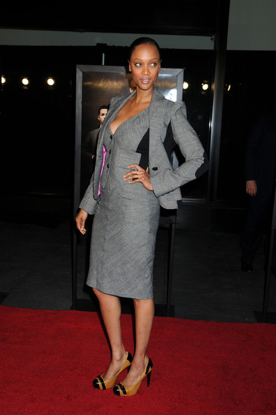 More Pics of Tyra Banks Skirt Suit (3 of 8) - Tyra Banks Lookbook - StyleBistro