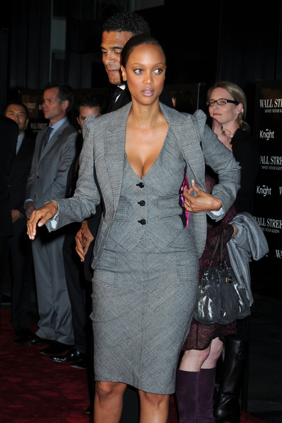 More Pics of Tyra Banks Skirt Suit (5 of 8) - Tyra Banks Lookbook - StyleBistro