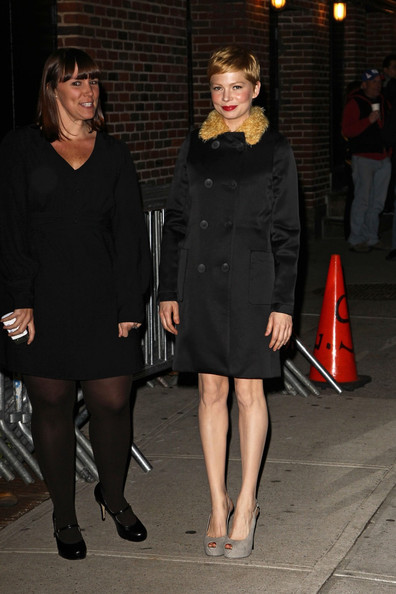 Michelle Williams Evening Coat
