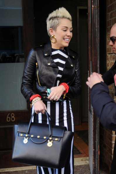 Miley Cyrus in New York 3
