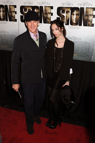 """Matthew Modine donned a jaunty newsboy cap at the red carpet premiere of """"Stone."""""""
