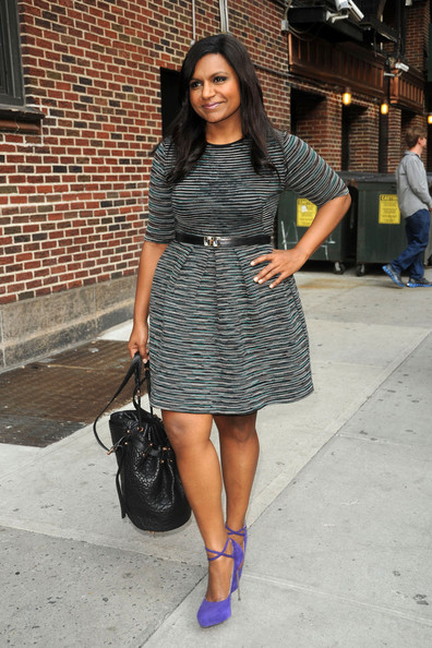 Mindy Kaling Platform Pumps