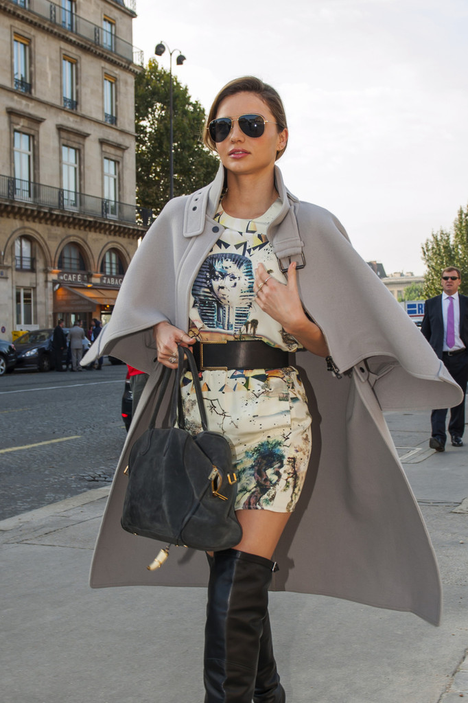 Miranda Kerr Keeps Busy in Paris