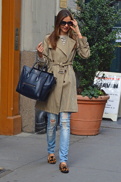 More Pics of Miranda Kerr Trenchcoat (1 of 6) - Miranda Kerr Lookbook - StyleBistro