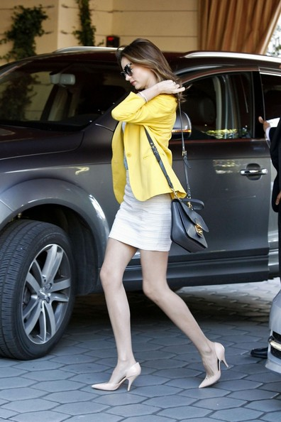 More Pics of Miranda Kerr Leather Messenger Bag (4 of 12) - Miranda Kerr Lookbook - StyleBistro