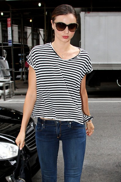 More Pics of Miranda Kerr T-Shirt (1 of 11) - Miranda Kerr Lookbook - StyleBistro