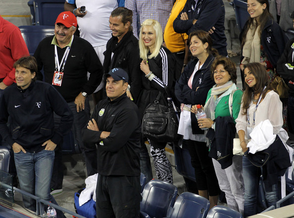 Gwen Stefani and Gavin Rossdale at the US Open