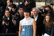 Miroslava Duma Denim Dress