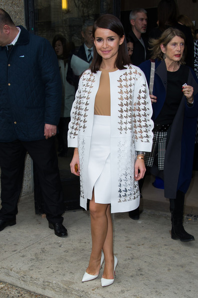 Miroslava Duma Evening Coat