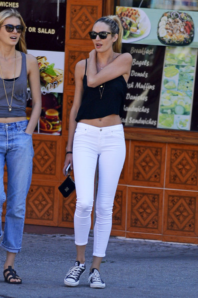 More Pics of Candice Swanepoel Skinny Jeans (1 of 5) - Candice Swanepoel Lookbook - StyleBistro