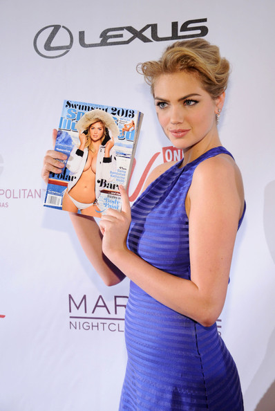 More Pics of Kate Upton Cocktail Dress (1 of 15) - Kate Upton Lookbook - StyleBistro
