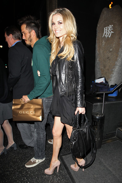 More Pics of Marisa Miller Leather Jacket (3 of 11) - Marisa Miller Lookbook - StyleBistro