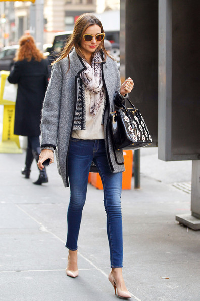 More Pics of Miranda Kerr Skinny Jeans (1 of 11) - Miranda Kerr Lookbook - StyleBistro