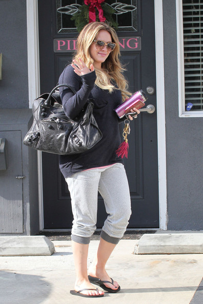 More Pics of Hilary Duff Ombre Hair (16 of 23) - Ombre Hair Lookbook - StyleBistro