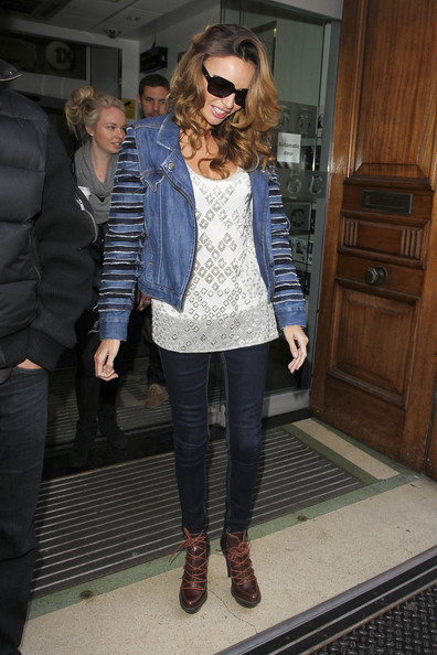 Nadine Coyle Denim Jacket