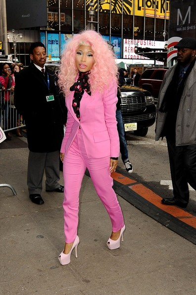Nicki Minaj Peep Toe Pumps