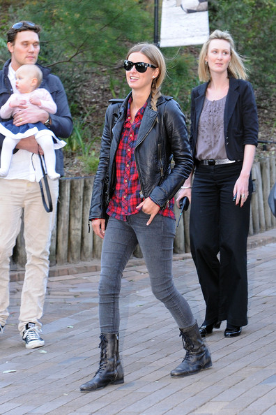 Nicky Hilton Motorcycle Jacket