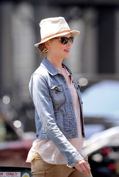 Nicole Kidman Denim Jacket