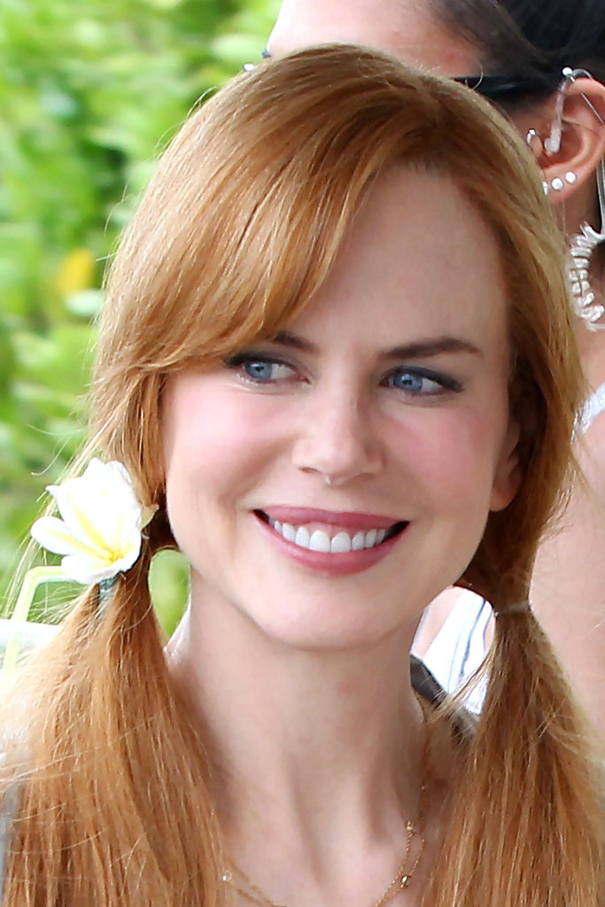 More Pics Of Nicole Kidman Long Pigtails 8 Of 12 Long