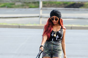 Nicole Polizzi High-Waisted Shorts