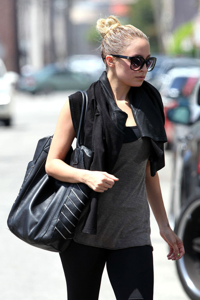 Nicole Richie Leather Tote