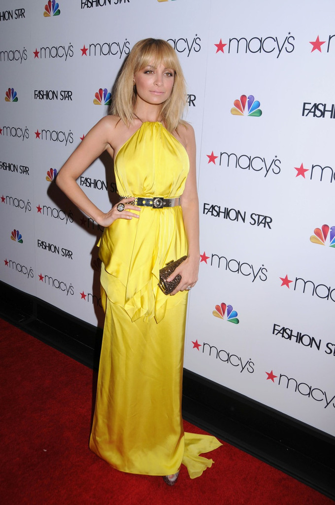 "Nicole Richie attending Macy&squot;s celebrates NBC&squot;s new Primetime series ""Fashion Star"" held at Macy&squot;s Herald Square in New York City.."