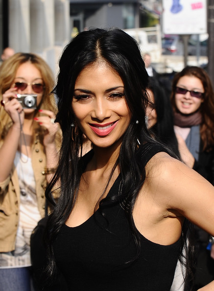 Nicole Scherzinger Half Up Half Down