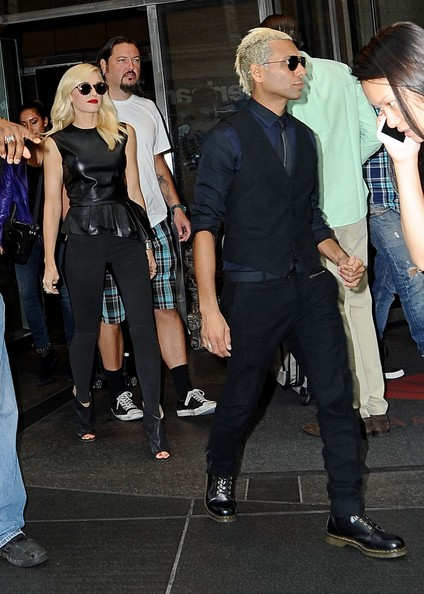 Gwen Stefani and Tony Kanal in NYC