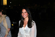 Olivia Munn spends her Saturday evening at West Holywood's Bardot lounge. Hot Hollywood star Justin Timberlake recently had to deny having an affair with the raven-haired beauty.