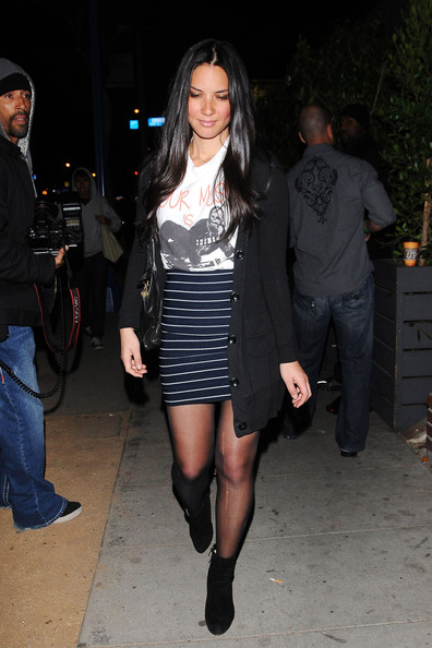 More Pics of Olivia Munn Ankle boots (1 of 12) - Olivia Munn Lookbook - StyleBistro