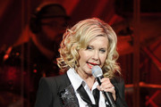 Olivia Newton-John Striped Tie