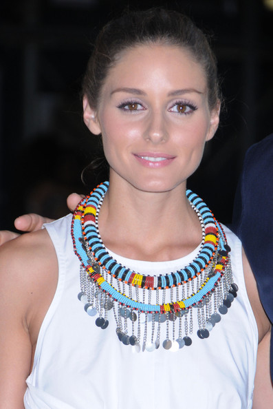 Olivia Palermo Beaded Statement Necklace []
