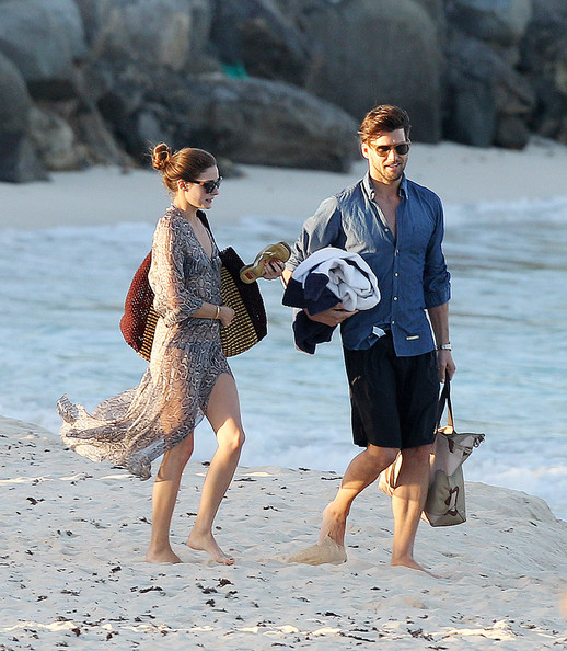 Olivia Palermo and Johannes Huebl in St Barts