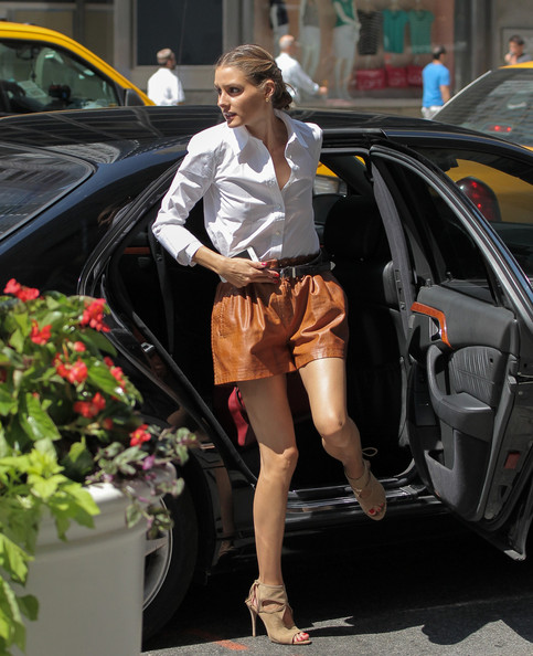 More Pics of Olivia Palermo Button Down Shirt (1 of 11) - Tops Lookbook - StyleBistro