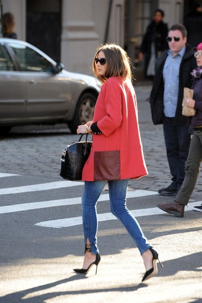 More Pics of Olivia Palermo Wool Coat (5 of 14) - Olivia Palermo Lookbook - StyleBistro