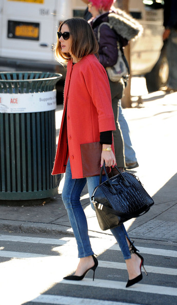 More Pics of Olivia Palermo Wool Coat (6 of 14) - Olivia Palermo Lookbook - StyleBistro