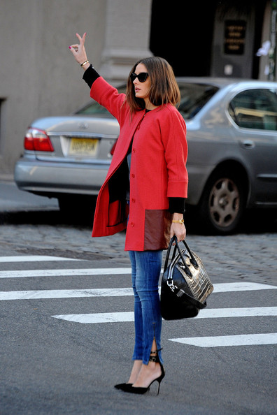 More Pics of Olivia Palermo Skinny Jeans (2 of 14) - Olivia Palermo Lookbook - StyleBistro