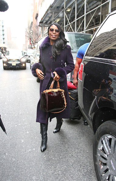 More Pics of Omarosa Manigault Wool Coat (2 of 9) - Omarosa Manigault Lookbook - StyleBistro