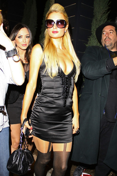 Paris Hilton Little Black Dress