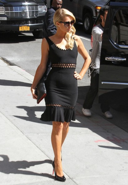 More Pics of Paris Hilton Little Black Dress (1 of 5) - Little Black Dress Lookbook - StyleBistro
