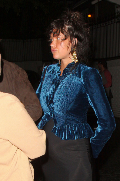 Paz de la Huerta Fitted Blouse