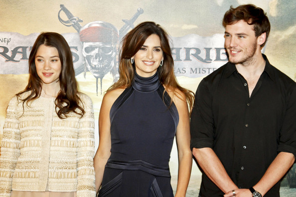 """The Madrid premiere of """"Pirates of the Caribbean: On Stranger Tides"""""""