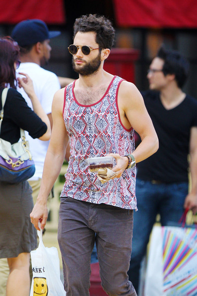More Pics of Penn Badgley Tank Top (1 of 7) - Penn Badgley Lookbook - StyleBistro