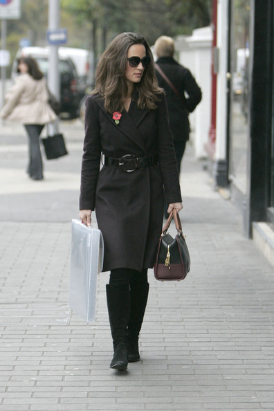 Pippa Middleton Leather Belt