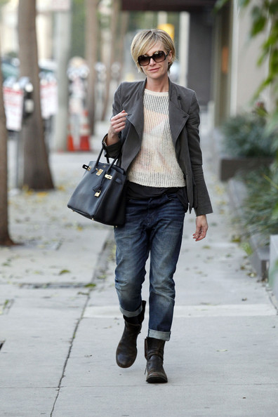Portia+de+Rossi in Portia De Rossi Out and About